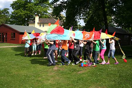 Workshop in Danes Hill School, Hampshire « Sally McKay