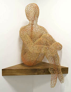 wire sculpture. Irina