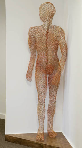 wire sculpture. James