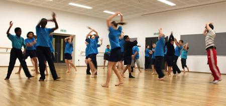 Thomas Tallis art/dance workshop