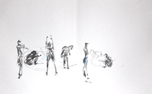 Thomas Tallis art/dance project wk 4