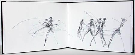 English National Ballet. rehearsal