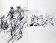 Anne Teresa De Keersmaeker dances in The Tanks