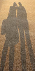 Our shadows in the Olympic Park