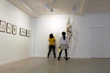 lewisham college dance students at the Gallery