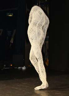Marilyn Monroe sculpture in theatre