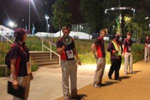 Olympic Park goodbye