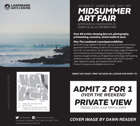 Landmark Midsummer Art Fair Invite